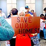 Activists rallied for the original legislation.
