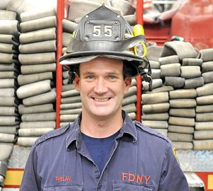 Firefighter Thomas Phelan will be one of 18 names added to the World Trade Center Memorial Wall.