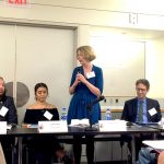 Clara Hemphill, Director of Education Policy for The New School, served as a panelist.