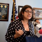 """""""Immigration right now is consistently and continuously under attack,"""" said Ángela Fernández, NMCIR Executive Director."""