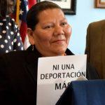 """I have children here, family, grandchildren,"" says María."