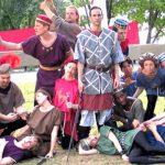 El elenco de la producción 2015 de Henry IV.