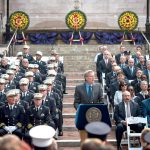 """[The] commitment that never ends,"" said Mayor Bill de Blasio. Photo: FDNY"