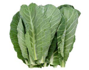 Las coles verdes son un elemento básico en la cocina del sur.