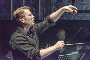 Music Director Chris Whittaker. Photo: Brian Long