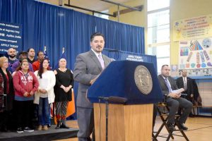 """Schools Chancellor Richard A. Carranza said the city has """"set the standard…across the country."""""""