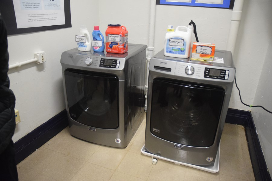 The machines will allow students to wash their clothes more easily.