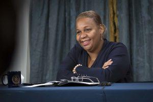 canciller escolar Meisha Porter.