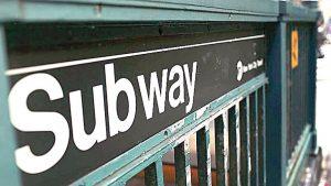 entrada del metro